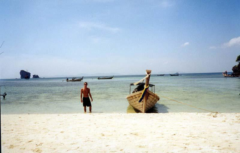 Thailand Boat Photo, reenacted