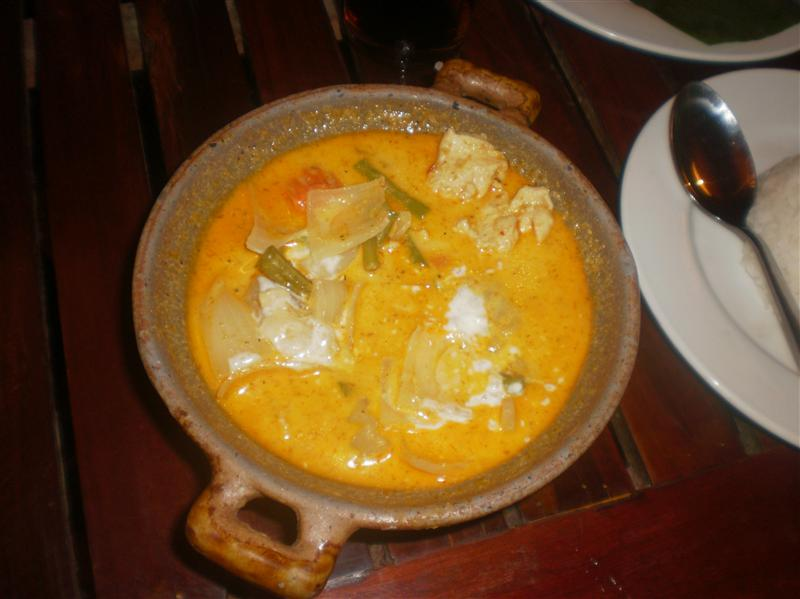 Amazing Cambodian curry