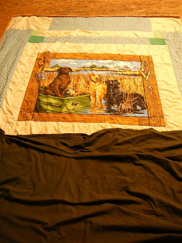 Grandma's Quilt Kept Me Warm