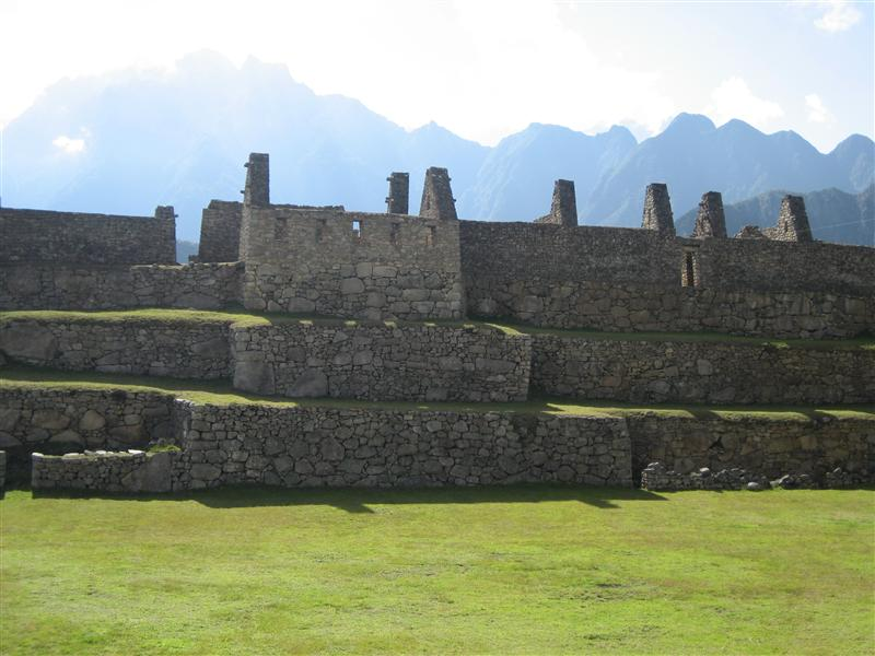 Tiered steps of Macchu Piccu