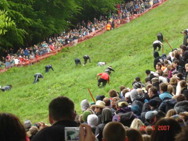 Cheese Rolling Festival May 2007