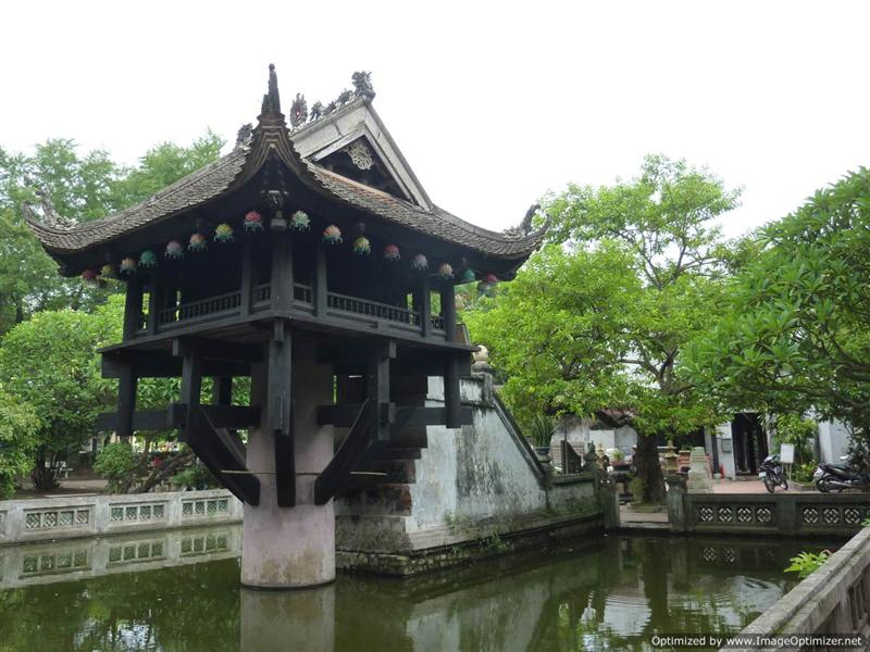 Hanoi - One pillar pagoda