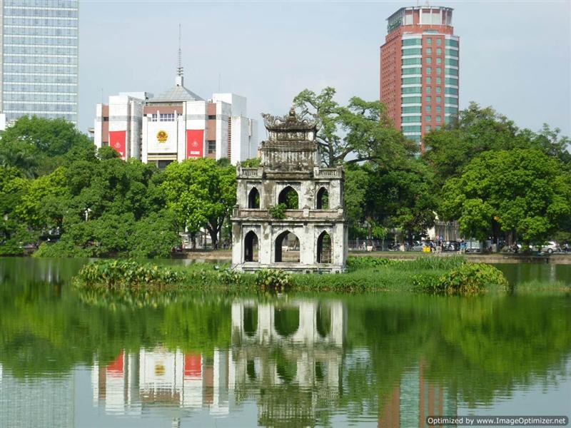 Hanoi - Thap Rua Temple