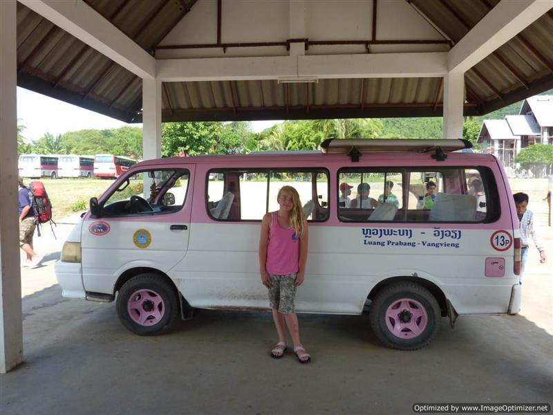 Luang Prabang - This is not a luxury mini van