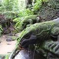 Ubud - Stone Komodo's