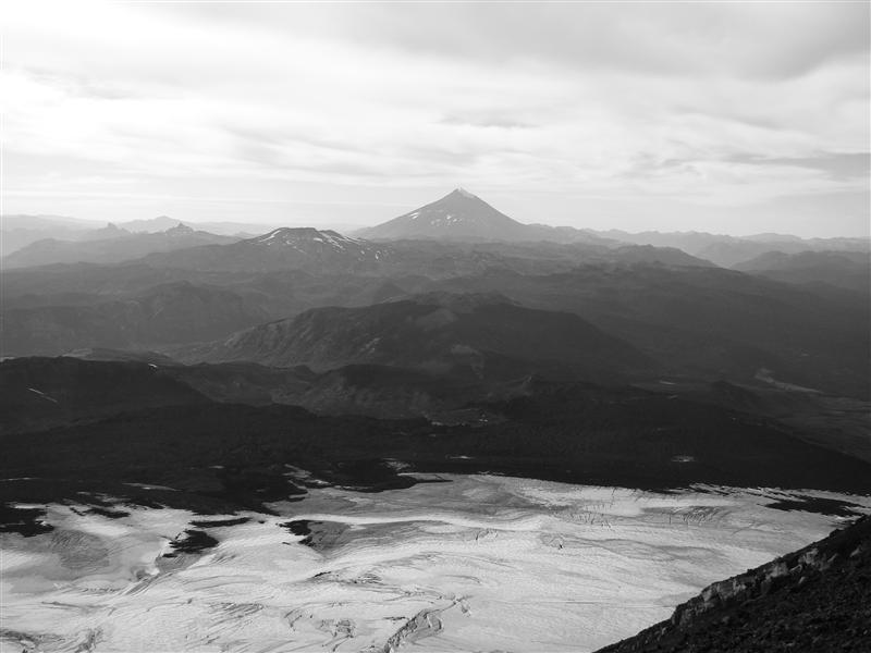 From the top of Volcon Villarrica 2847m