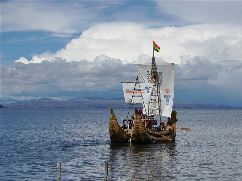 'Traditional' transport, Lake Titicaca