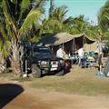Campsite in Karumba