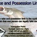 Karumba Point Susnet Caravan park - Fishing Rules