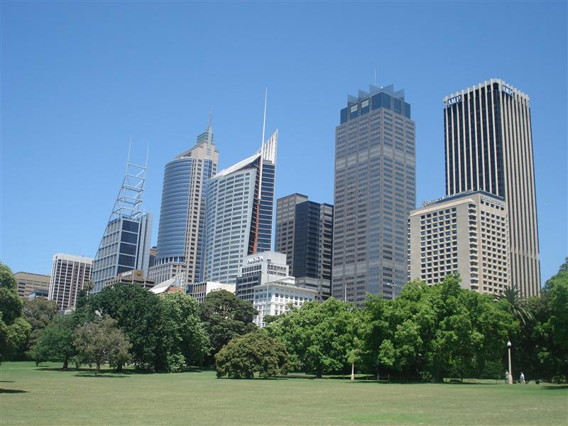 The City from the Gardens