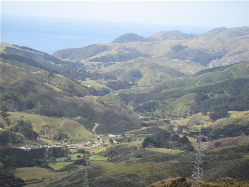 View from Makara Peak