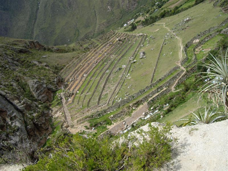 1st day, inca terraces