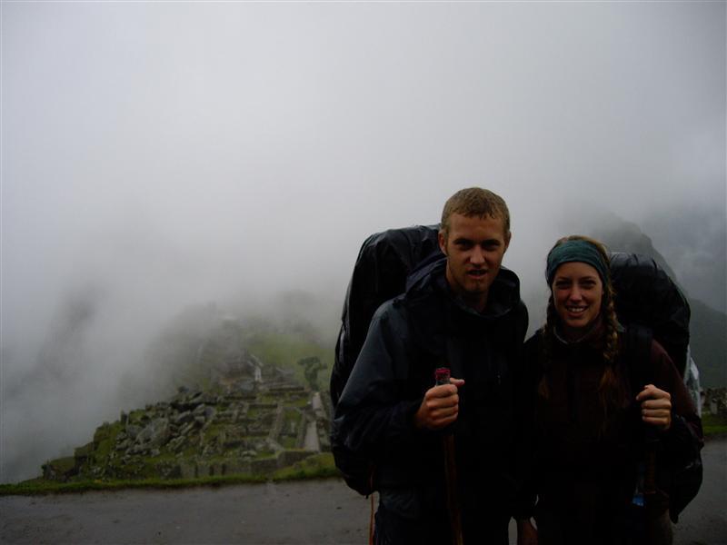 4th Day, Machu Picchu (behind us somewhere....)
