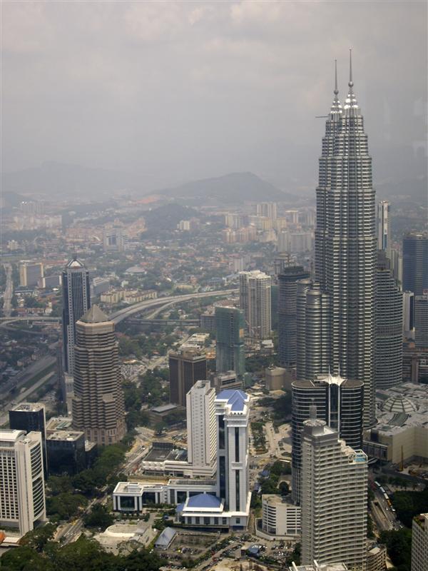 View from Menara KL