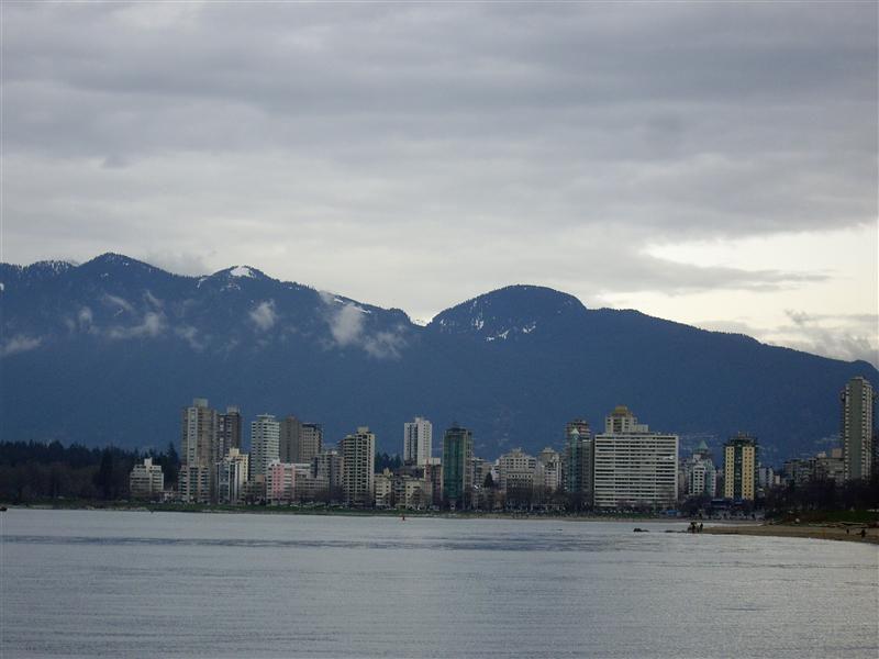 View from Kits beach