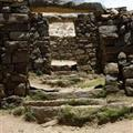 Ruins at the Isla del Sol, on lago titicaca
