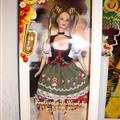 Look Mummy!  An Oktoberfest Barbie!
