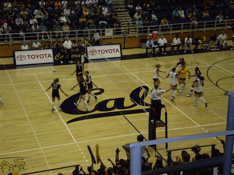 Volleyball - Great crowd