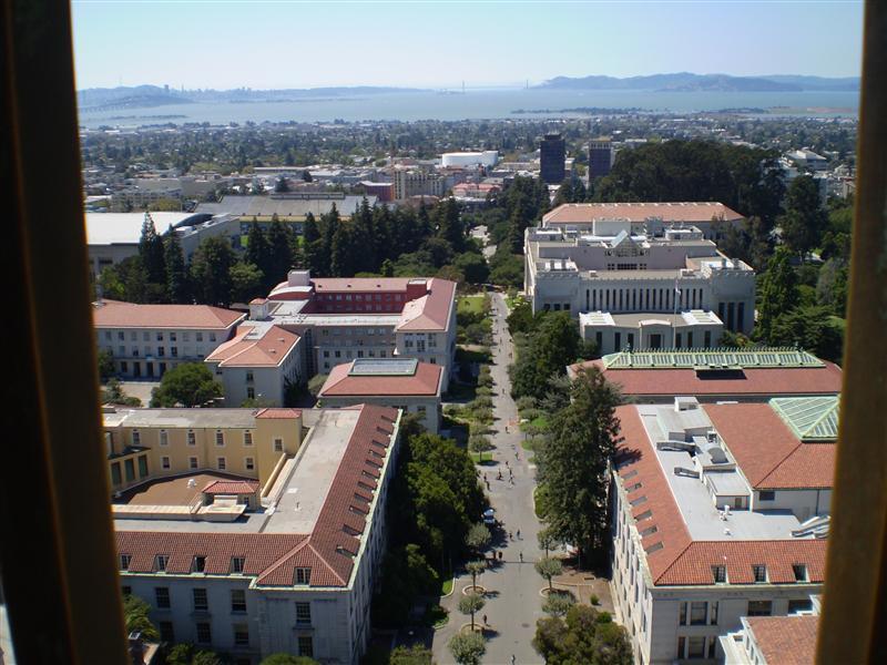 The Main Drag - Berkeley Campus' little highway.