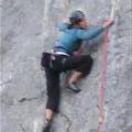 Me Climbing at Extauri climbing area