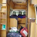 Inside of my new camper van