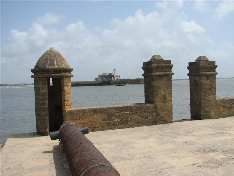 The former prison island