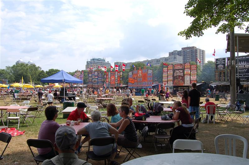 Craft Beer & Ribfest (ribfest section)