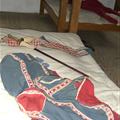 Soldiers bed, shared by 3