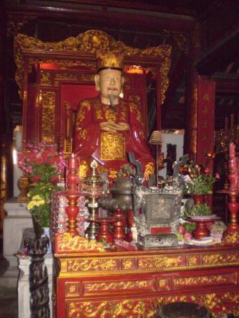Confucian alter in the Temple of Literature