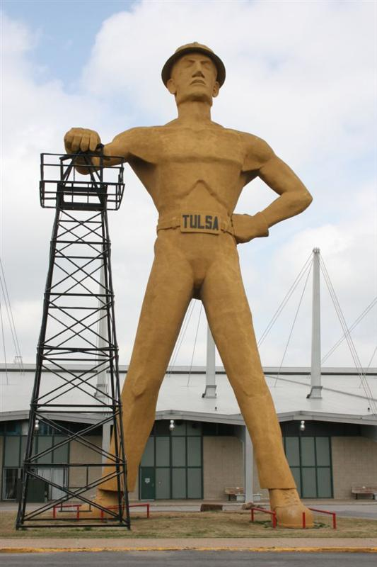 Giant Oil Man - Tulsa, OK
