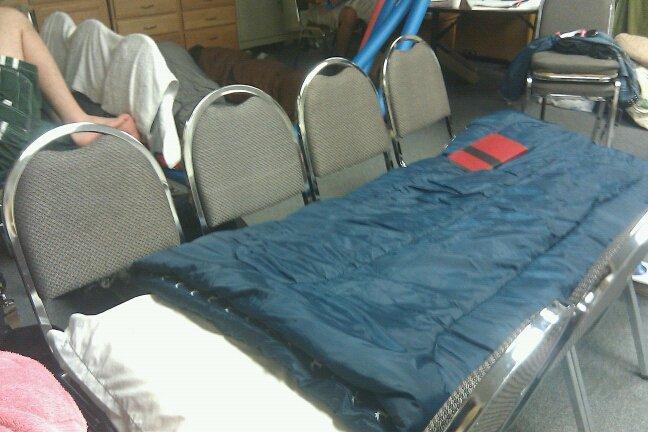 Bed at Cornerstone 2010