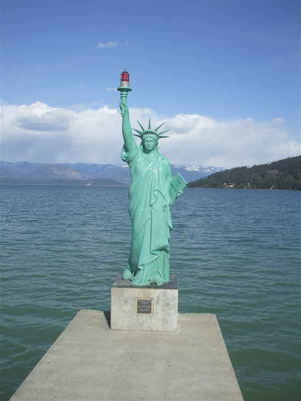 The REAL statue of liberty! =0)