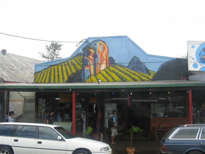 A storefront in Nimbin