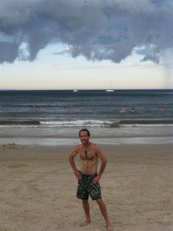 Noosa Main Beach... very cool clouds