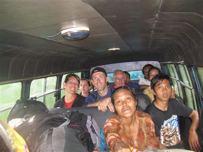 The 11 hour bus ride from Mt. Bromo to Solo