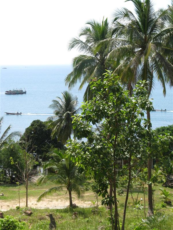 Views from the top of our hill in Hat Khom (Koh Phangan)