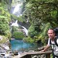 Timmy likes waterfalls!