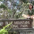 We enjoyed the Blue Mountains
