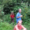 Jim, Tim and Paul on the hippie commune outside Nimbin