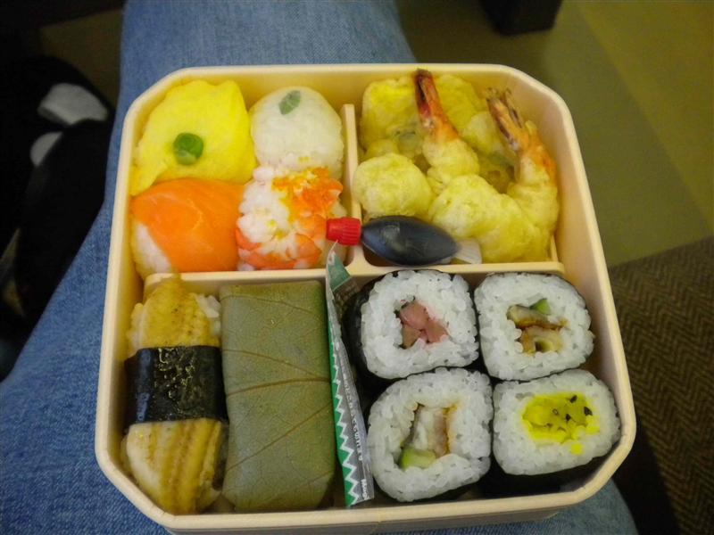 Sushi ekiben