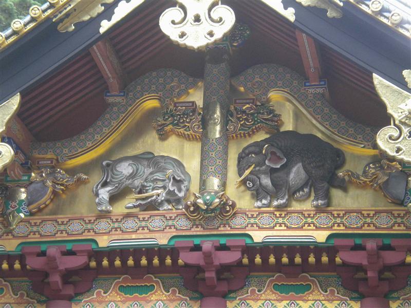 Tosho-gu elephants, I think