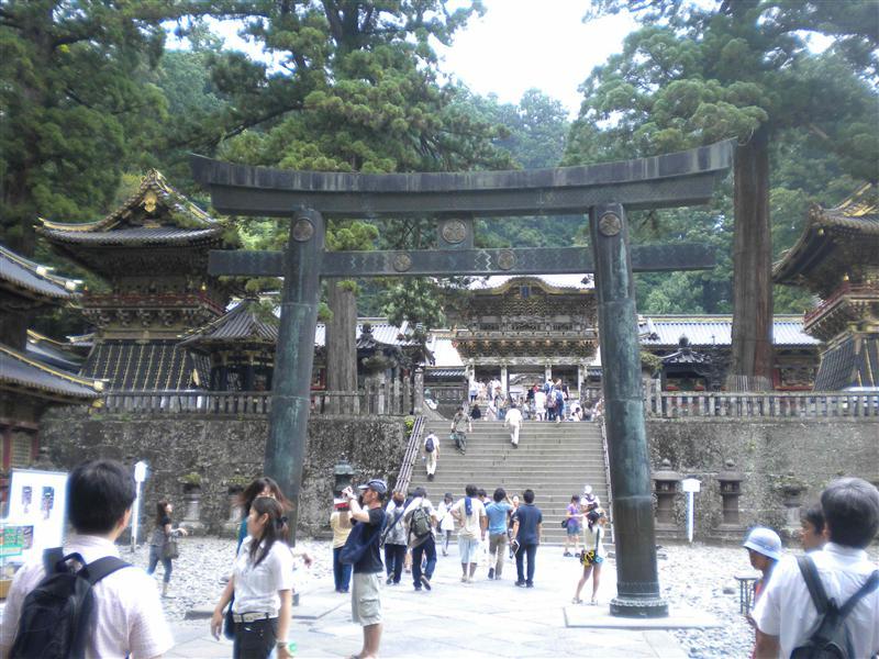 Tosho-gu entrance