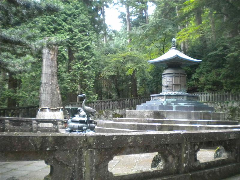 Ieyasu's tomb
