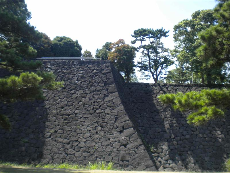 Imperial Palace East Garden wall