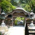 Eiheiji gate (inside)