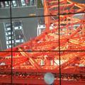 Tokyo Tower - Floor window