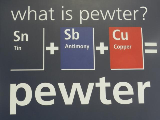 An explanation into Pewter