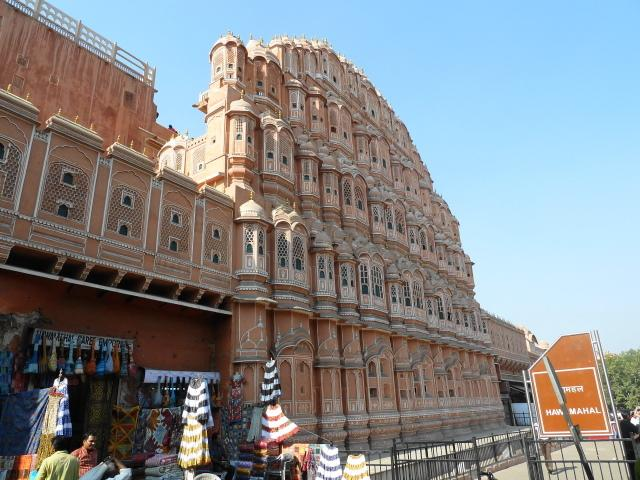 Hawa Mahal from street