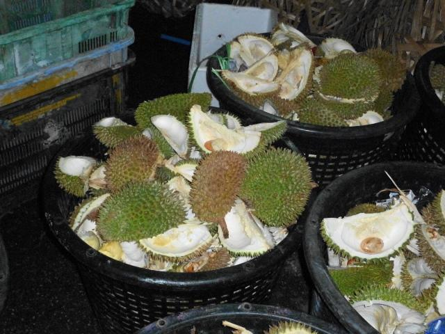 Durian rubbish