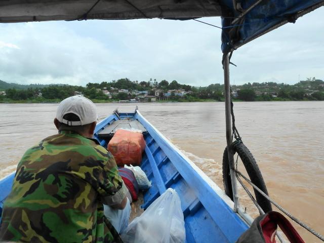 Crossing into Laos